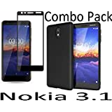 Wellpoint 3.1 for Nokia 3.1 Tempered Glass 5d 9h (Black Glass)