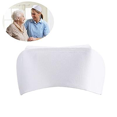 Tinksky Accessoires de costumes infirmière Cosplay chapeau drôles de chapeaux Party (blanc)