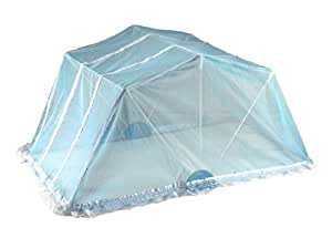 Natraj Goodnight Mosquito Net (Blue)
