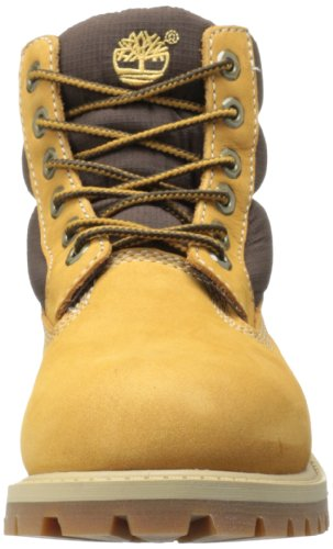 Timberland 6 In Classic Boot Ftc 6 In Quilt Boot  Unisex Children s Boots  Brown  Wheat   5 5 Child UK