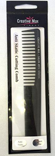 Anti statique peigne de coupe de qualité salon