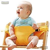 Bundera Bebek Mama Sandalyesi Emniyet Kemeri Güvenli Bebek Oturma Destek Kiti Güvenlik Kemer Kilit