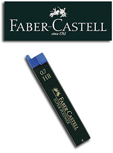 Faber-Castell SUPER-POLYMER Feinminen Etui (1 Dose, 0,7 HB)
