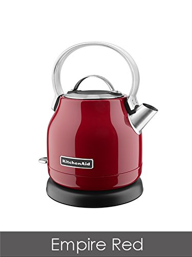 KitchenAid 5KEK1222BER 1.25-Litre Dome Kettle - Empire Red Best Price and Cheapest