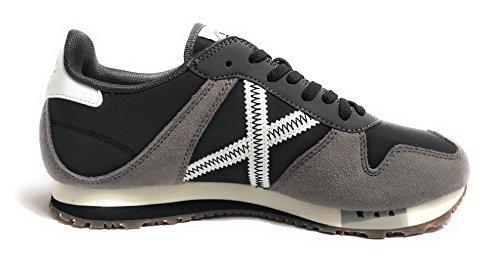 Munich Chaussures 252 Massana Blue Gris / Noir