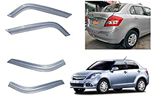 Premium Quality Flex Line Chrome Bumper Protector for - Maruti Suzuki Swift Dzire New 2015 - ALP Blue