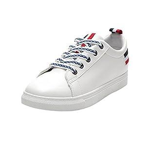Schuhe, Resplend Lässige Sportschuhe Mode Flache Outdoorschuhe Schnürschuhe Turnschuhe PU-Leder Sneaker