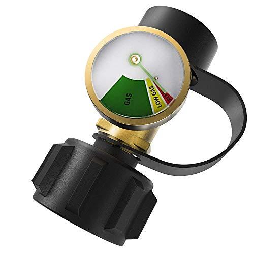 Nrpfell Amerikanische überdruck Super-Strom Leck Erkennung Automatische Abschaltung Propan Tank Manometer Gaszylinder Adapter -