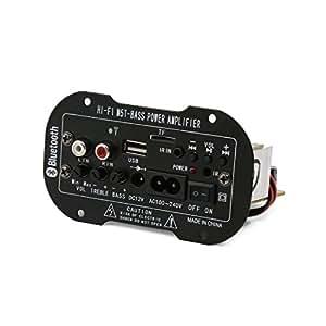 Car Truck Decoder Subwoofer amplificatore MP3 bluetooth, 12 V, 100-240 V