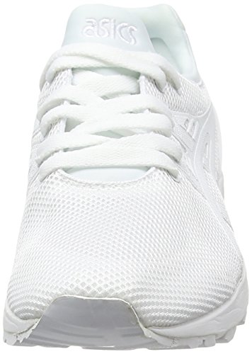 Asics Gel-Kayano Trainer Evo, Baskets Basses Mixte Adulte Blanc (white/white 0101)