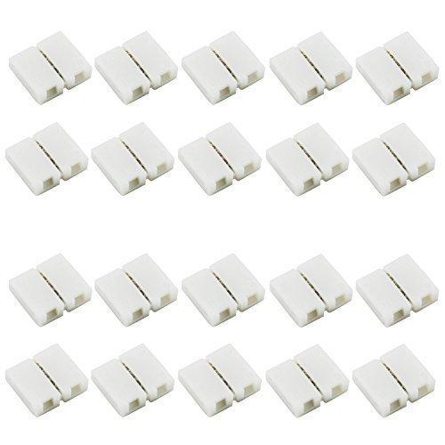 4Pin-RVB-5050-Bande-LED-adaptateur-sans-soudure-Connecteur-Pour-5050SMD-non-tanche-RGB-bande-20PCS