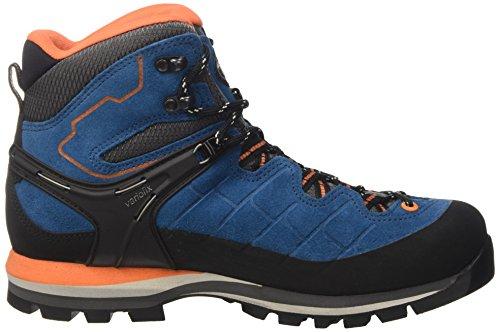 Meindl Litepeak GTX, Chaussures de Randonnée Hautes Homme, Bleu Bleu (Blue/ Ornag)