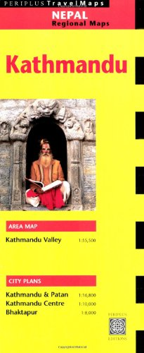 Kathmandu Travel Map (Periplus Travel Maps)