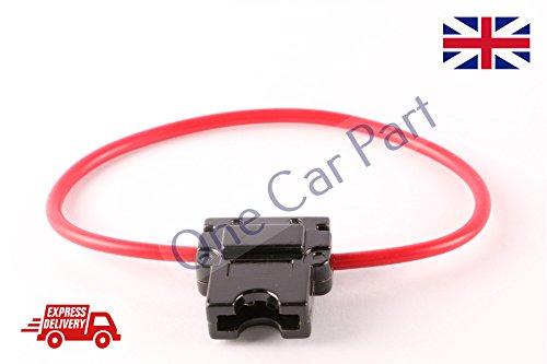 25 Amp Out-line Porte fusible véhicule fusible à lame ATC/ATO Calibre 16