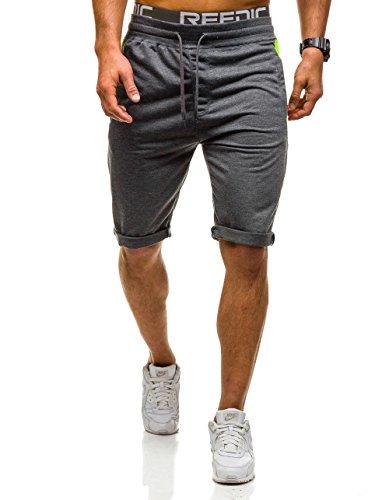BOLF Herren Short Kurzhose Bermuda Hose Casual Sport 7G7 Motiv