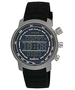 Suunto Elementum Terra Black Rubber/Dunkles Display Armbandcomputer
