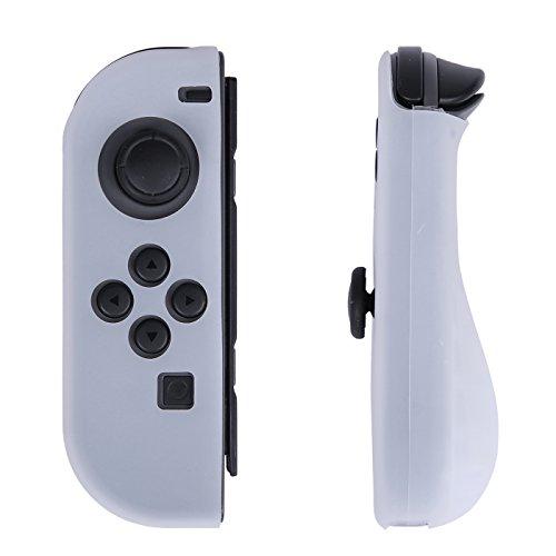 HDE Silikonhülle für Nintendo Switch Controller Joy Con Gel Guards Anti-Rutsch Comfort Grip Konturierte links / rechts Schutzhüllen -