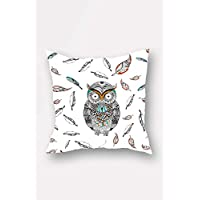 Bonamaison Decorative Throw Pillow Cover, Multi-Colour, 45 x 45 cm, BNMYST1991