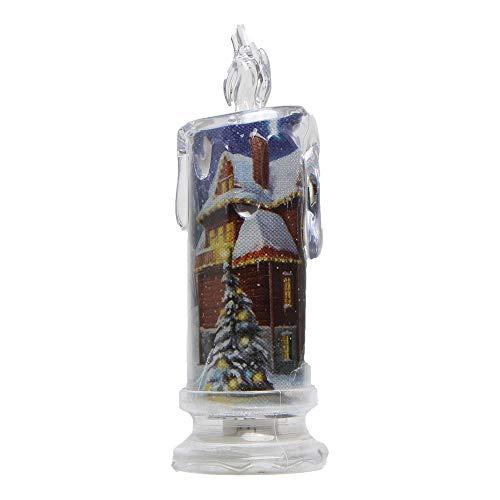 ekoration - Elektronische Beleuchtung LED-Kerze für NeujahrsDekoration für Party ()