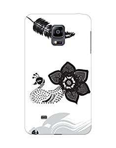 Mobifry Back case cover for Samsung Galaxy Note 4 EDGE SM-N9150 Mobile ( Printed design)