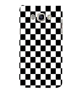 FUSON Chess Board Racing Flag 3D Hard Polycarbonate Designer Back Case Cover for Samsung Galaxy J5 (6) 2016 :: Samsung Galaxy J5 2016 J510F :: Samsung Galaxy J5 2016 J510Fn J510G J510Y J510M :: Samsung Galaxy J5 Duos 2016