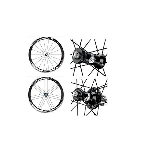"""Campagnolo 0136150 - Juego De Ruedas Bullet Ultra H50 Dark """"Cult"""" Cubierta de ciclismo Shimano"""