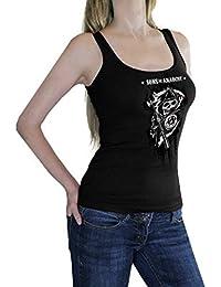 Sons Of Anarchy Reaper Juniors Noir pour Femme