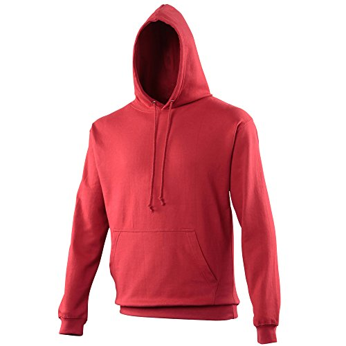 Awdis CollegeHoodie Red Hot Chilli