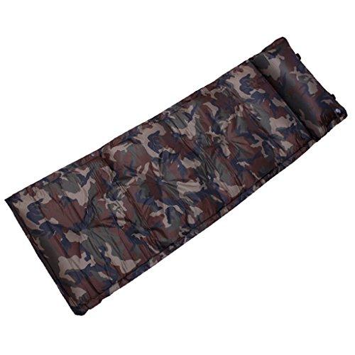 TYJ Picknick-Decken Im Freien Aufblasbare Auflage-kampierende Einzelne Feuchtigkeitsfeste Auflage-Zelt-Luft-Kissen ( größe : 183*55cm )