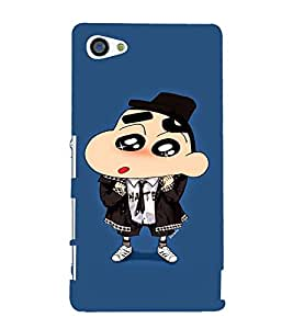 EPICCASE Suited Ching Shang Mobile Back Case Cover For Sony Xperia Z5 Mini / Z5 Compact (Designer Case)
