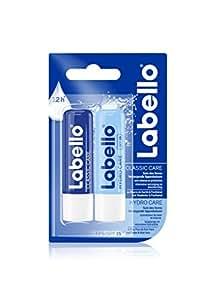 Labello Duo Classic Care et Hydro Care 2x4,8g - 1pack de 2 unité