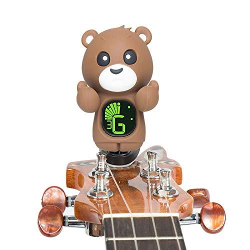 Accordatore/Tuner Teddy per chitarra, basso, ukulele