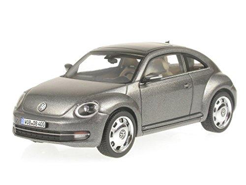VW Beetle 2012 grau Modellauto Schuco 1:43