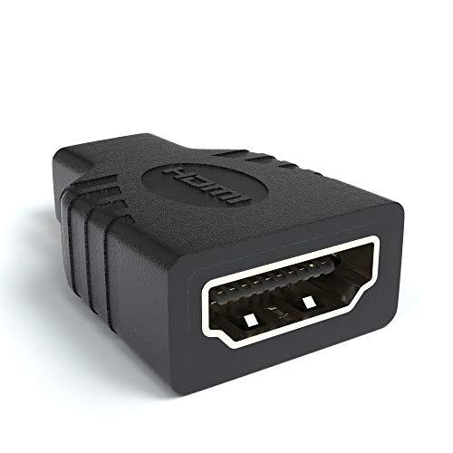 JAMEGA - HDMI auf Micro HDMI Adapter | HDMI Buchse auf Micro HDMI Stecker (19pol) 4K Ultra HD 1080p Full HD (Micro-hdmi-buchse Auf Hdmi-stecker)