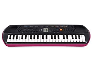 Casio SA-78 Mini clavier Rose
