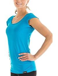 Winshape WTR4 - Camiseta de yoga o entrenamiento para mujer (diseño de  manga corta) 8052f8895c4ed