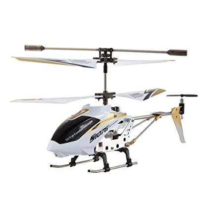 Syma 2nd Edition New Version Indoor Helicopter (White)