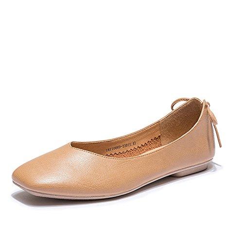 XZGC La Mode Casual Chaussures Rétro Chaussures Plates Bow