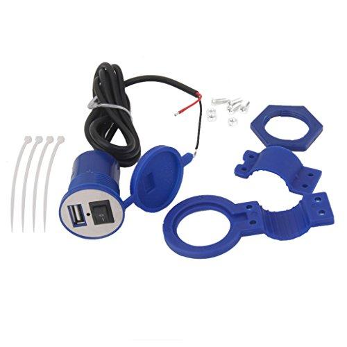 12v-Impermeabile-Moto-Dellautomobile-Del-Usb-Del-Caricatore-Di-Potere-Interruttore-Presa-Di-Corrente-5v-15a-Blu