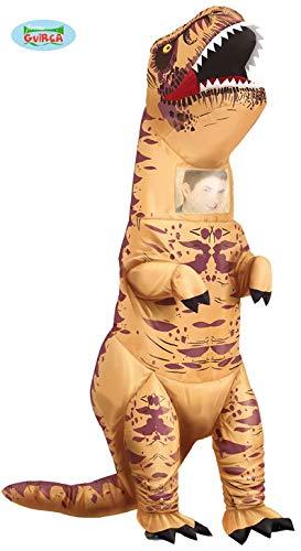 Unbekannt Aufblasbares Dinosaurier Kostüm T-Rex Rexo Gr. 52/54 Dino Urzeit Fasching