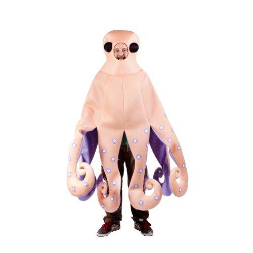 Tintenfisch-Kostüm für Erwachsene Einheitsgröße