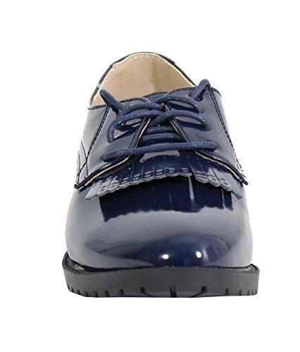 By Shoes - Damen Schnürhalbschuhe Blau
