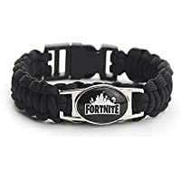 Leegoal Fortnite Bracelets, Weaving Bracelet for Kids Boys Girls Adults, Kids Birthday Party Fortnite Gamer Gifts