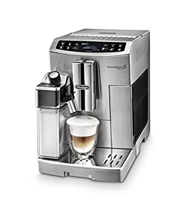 De'Longhi Primadonna S Evo ECAM 51.55.M Bean to Cup, Stainless Steel
