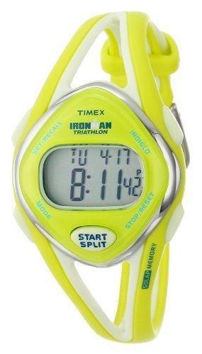 Timex Damen T5K656Ironman Sleek 50Lap Lime Armbanduhr Laufen Joggen
