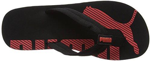 Puma Unisex Epic Flip v2 Sandalen Schwarz (Black-Hot Coral)