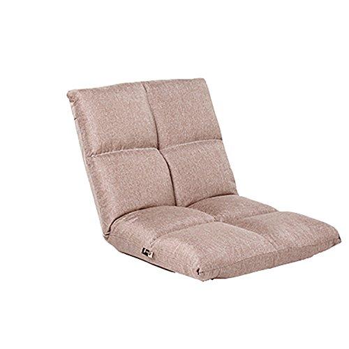 L-R-S-F Faul Sofa Boden Tattoo Falten Sofa Kleine Sofa Stuhl Einzelbett Rückenlehne Stuhl Anhänger Fenster Stuhl Liegen Stuhl ( Farbe : Khaki ) (Tattoo-stuhl Beige)