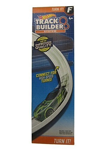 Hot Wheels Track Builder Turn It Curved Track Set F by Hot Wheels 0887961320312