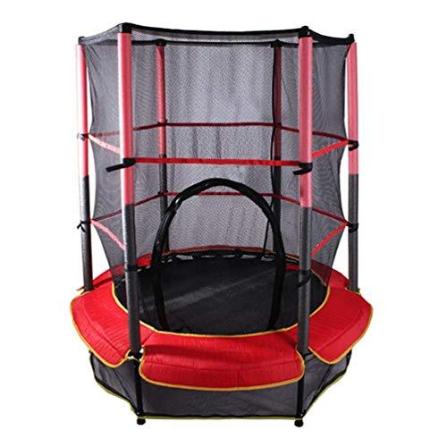 Erhöhen des Kindertrampolins, Kinder, Die Springendes Bett Mit Schützendem Nettogartenspiel Springen, Verlieren Gewicht (Color : 140cm/55.2in) -