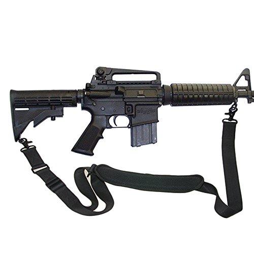 Tactical Single Element Gewehr Sling 2-Punkt Sling traditionelle Gewehr Gurt 1,25 Zoll Nylon-Rohr gewebt Gurtband (Trigger Spangen)